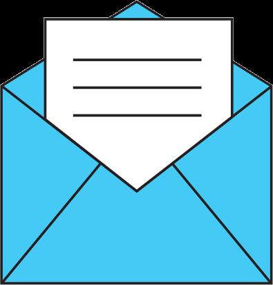 Envelope logo for DentalEmail.